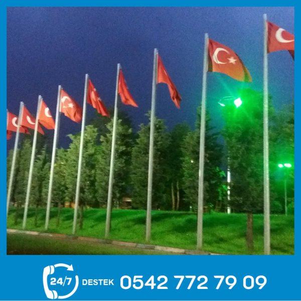 Galvaniz Bayrak Direği 07