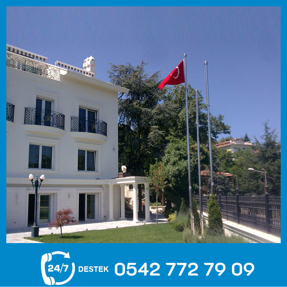 İstanbul Bayrak Direği İmalatı